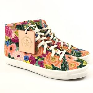 Keds x Rifle Paper Co Julie Floral High Sneakers